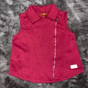 7 for all mankind zipper top size 2T in EUC